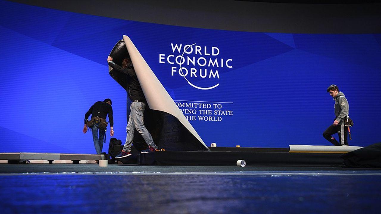 Le forum de Davos ouvre ses portes le 20janvier.