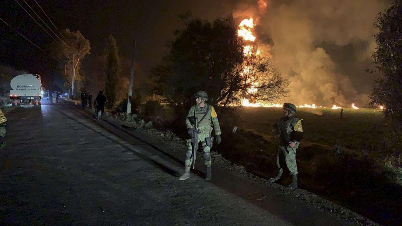 L'explosion d'un oléoduc à Tlahuelilpan au Mexique, vendredi dernier, a fait 91morts. Unetragédie provoquée par une fuite de pétrole qui avait attiré des habitants tentant de prendre le maximum de pétrole.