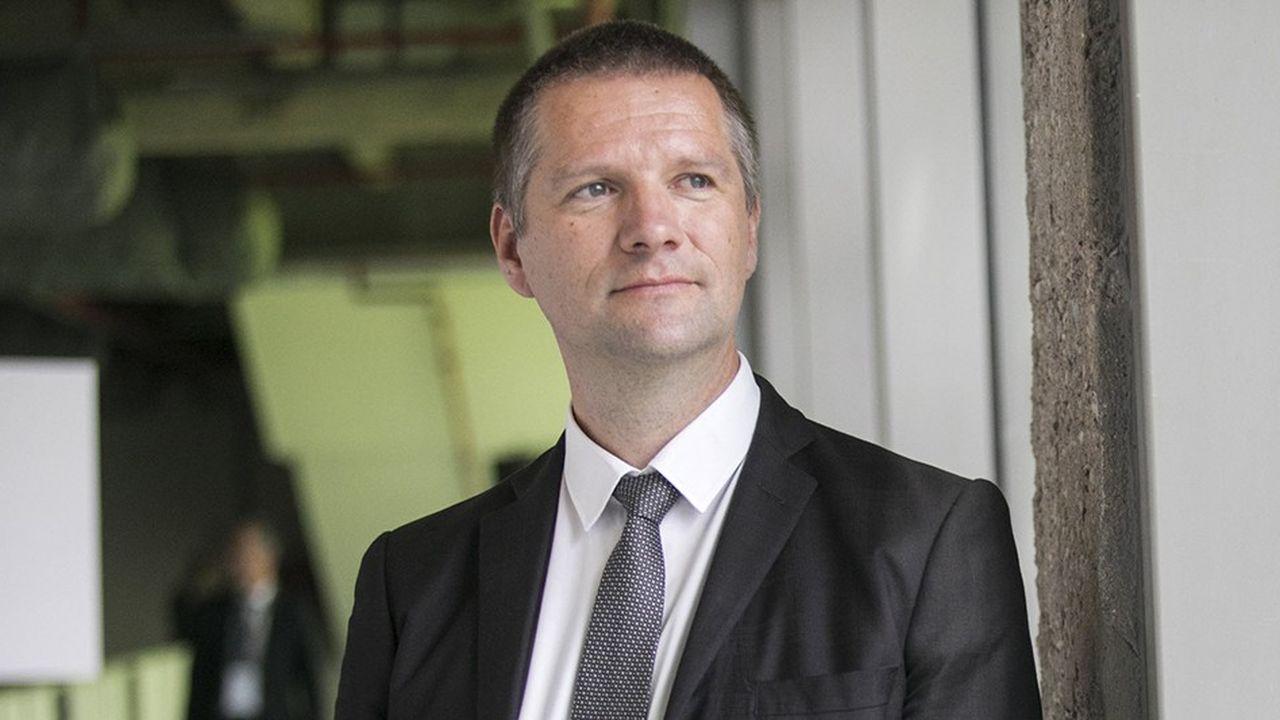 Guillaume Poupard, directeur général de l'Agence nationale de securite des systemes d'information.