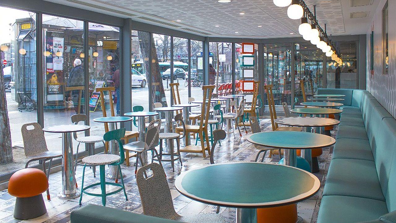 McDonald's France dispose désormais de huit options de décor pour ouvrir ou rénover des restaurants.