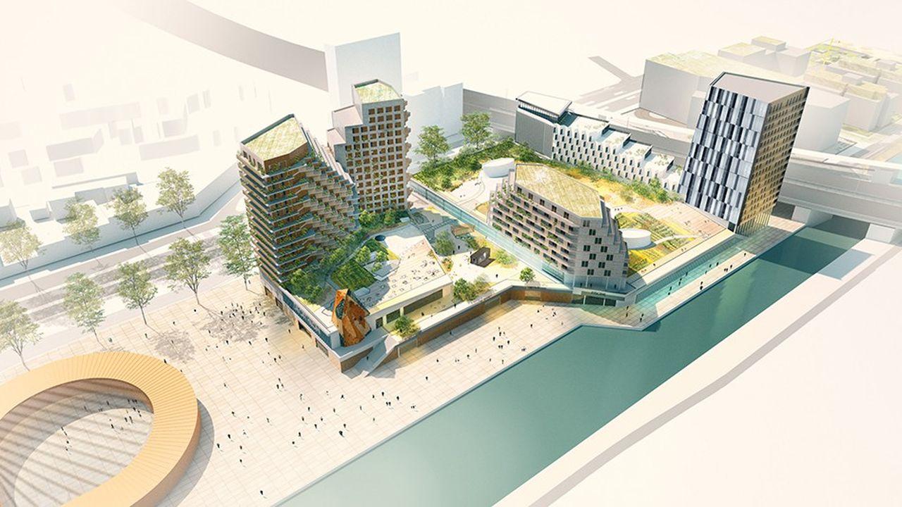 Le centre nautique comprendraun bassin de 50 mètres (soit 10 lignes d'eau) et des espaces ludiques.