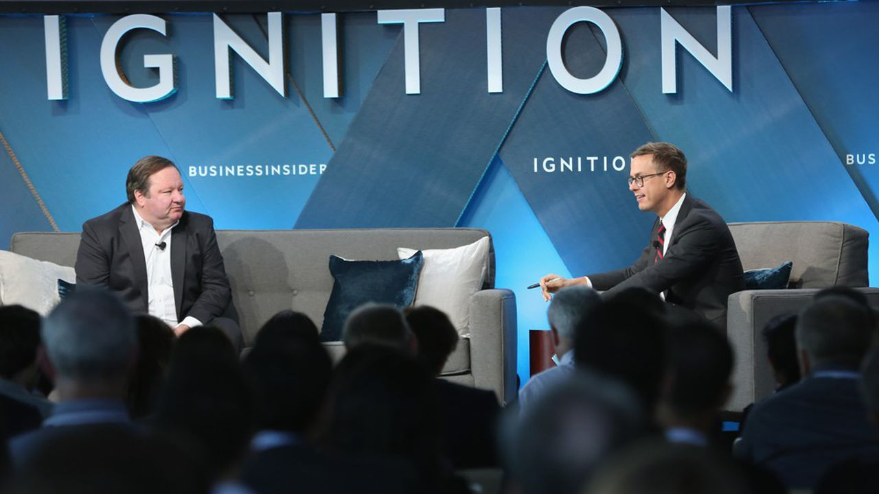 Le groupe dirigé par Robert Bakish (à gauche sur la photo) veut renforcer sa présence sur les plateformes de distribution «nouvelle génération».