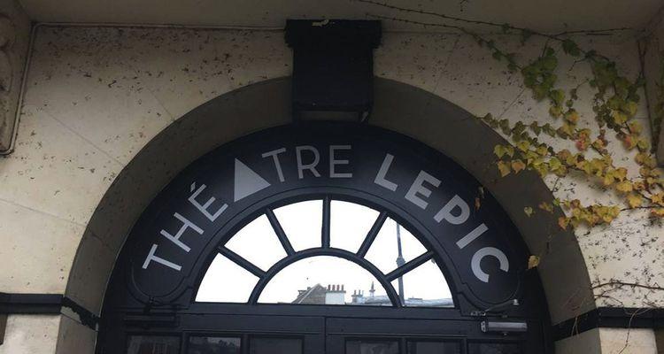 Le Théâtre Lepic, le plus haut de Paris, a rouvert mi-décembre2018.