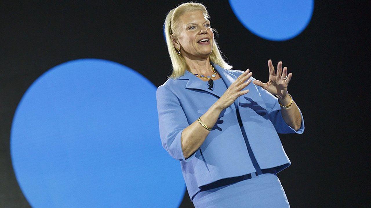 Pour la première fois depuis 2011 et depuis que Ginni Rometty en a pris la tête, IBM retrouve la croissance sur un an.