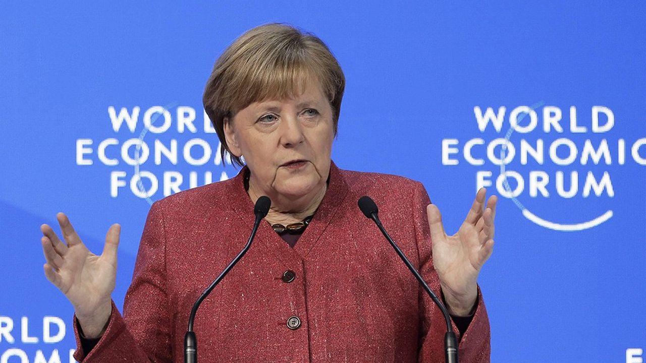 Pour Angela Merkel, il est urgent de construire une nouvelle architecture pour les données numériques, qui soit inspirée par l'éthique.