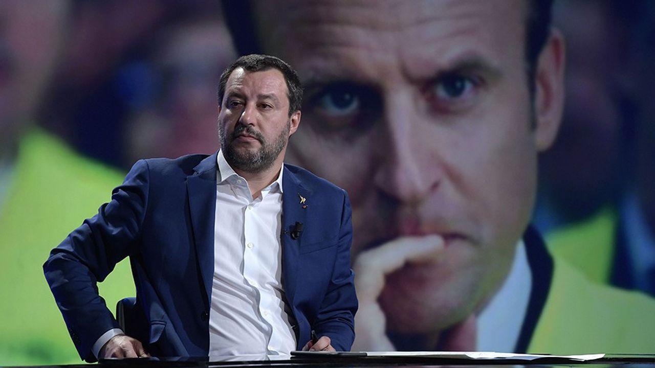 «En France, ils ont un très mauvais gouvernement et un très mauvais Président de la République», a déclaré Matteo Salivini mardi sur la chaîne Canale 5.