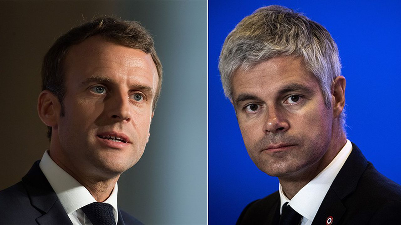 Emmanuel Macron et Laurent Wauquiezse rencontrent pour la première fois du quinquennat ce jeudi dans la Drôme.