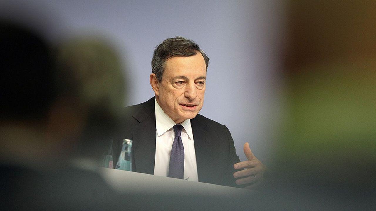 Mario Draghi, président de la BCE, quittera ses fonctions fin octobre.