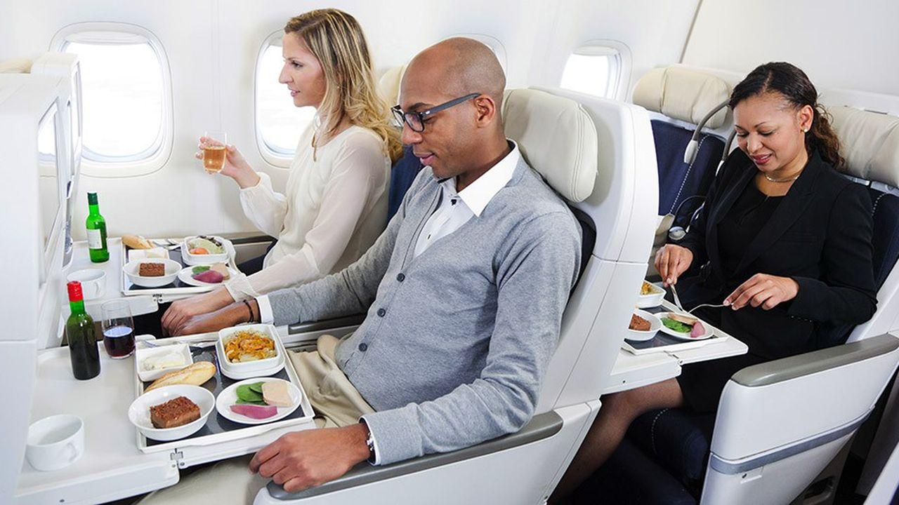 Lancée en 2008, la classe Premium écod'Air France a été copiée partout dans le monde.