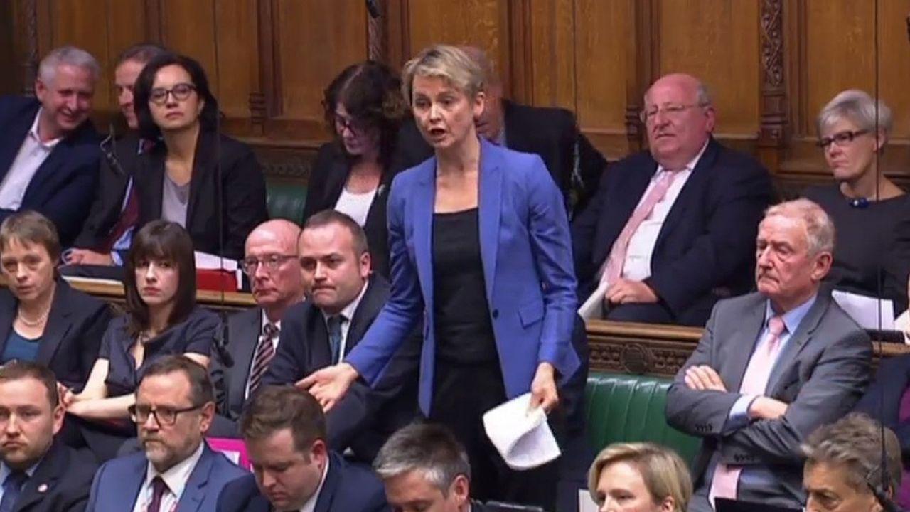 La députée travailliste Yvette Cooper