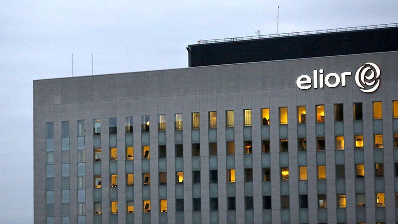 Le siège social d'Elior