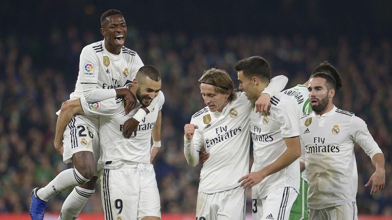 Le Real Madrid compte notamment le ballon d'or Luka Modric dans ses rangs