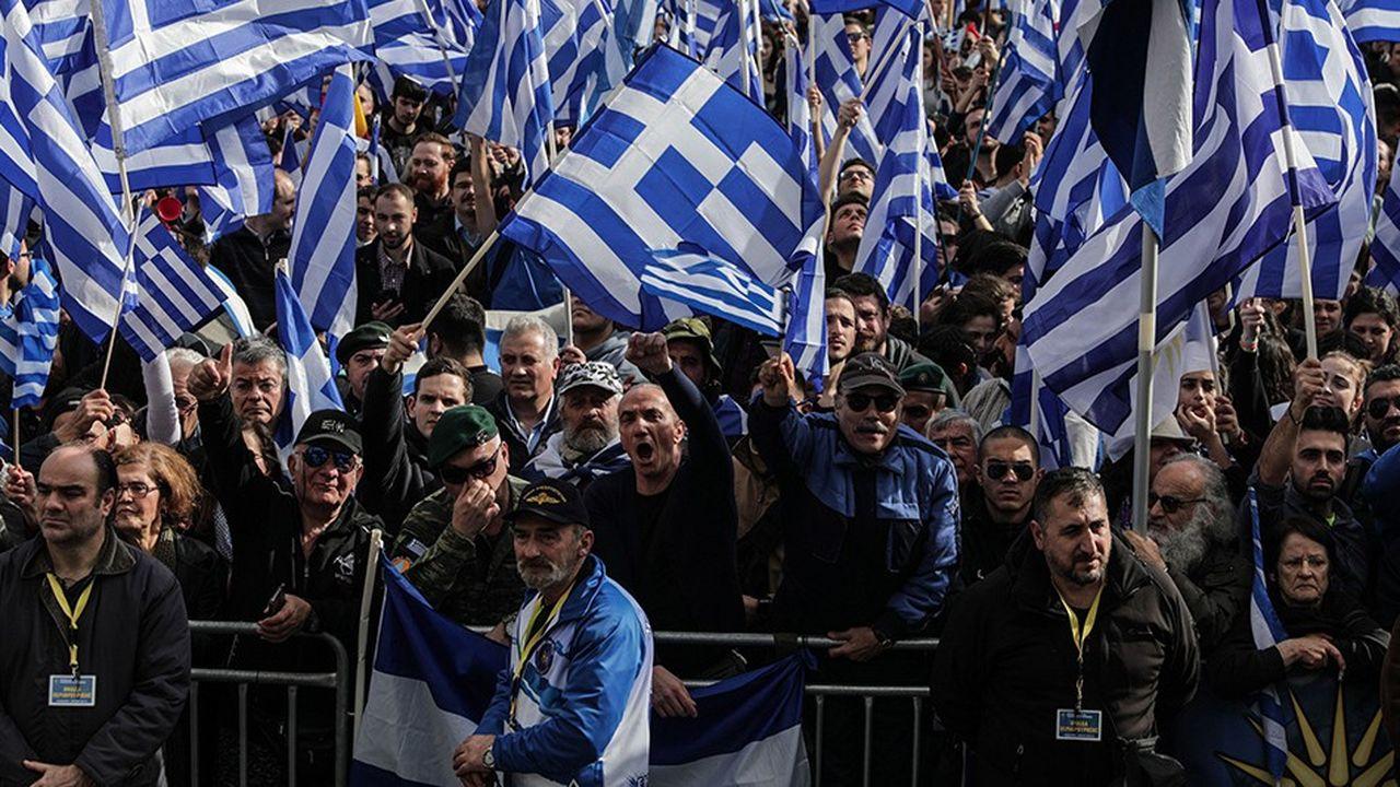 La Grèce bloquait jusqu'à présent toute adhésion de la Macédoine aux instances internationales sous un autre nom que son nom provisoire d'ancienne république yougoslave de Macédoine