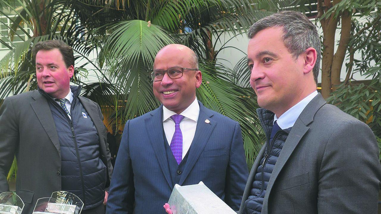 Sanjeev Gupta, le dirigeant du conglomérat britannique GFG est venu sur place jeudi inaugurer sa nouvelle filiale en présence du ministre des comptes publics Gérald Darmanin.