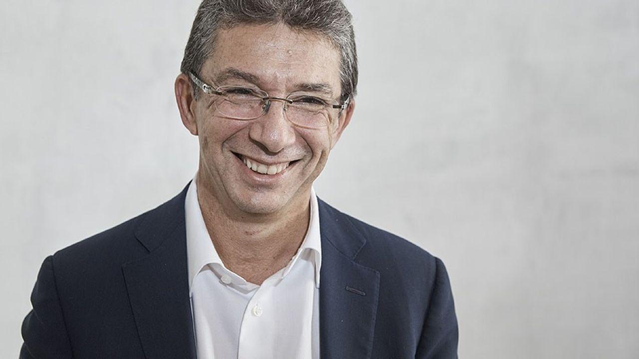 Le patron de Philip Morris International, André Calantzopoulos.
