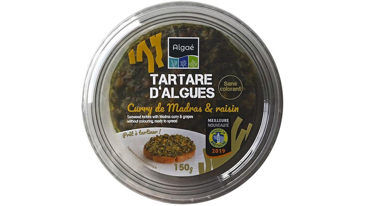 tartare d'algues fabriqué par la société GlobeXplore.