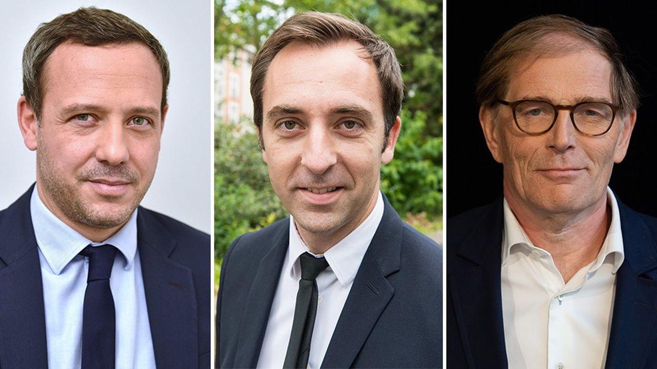 Adrien Taquet, Jean-Marie Girier et Philippe Grangeon arrivent respectivement au gouvernement, au parti et à l'Elysée.