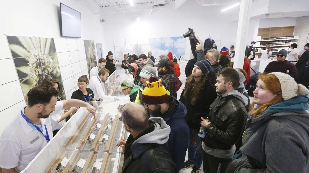 Mi-octobre, le Canada était devenu le deuxième pays au monde à légaliser le cannabis à usage récréatif