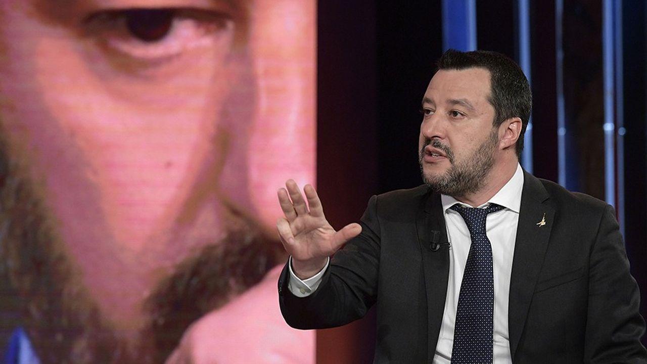 Le ministre de l'Intérieur italien, Matteo Salvini, risque un procès, à la suite de l'affaire des 150 migrants du navire Diciotti bloqués pendant dix jours cet été, dans le port de Catane en Sicile.