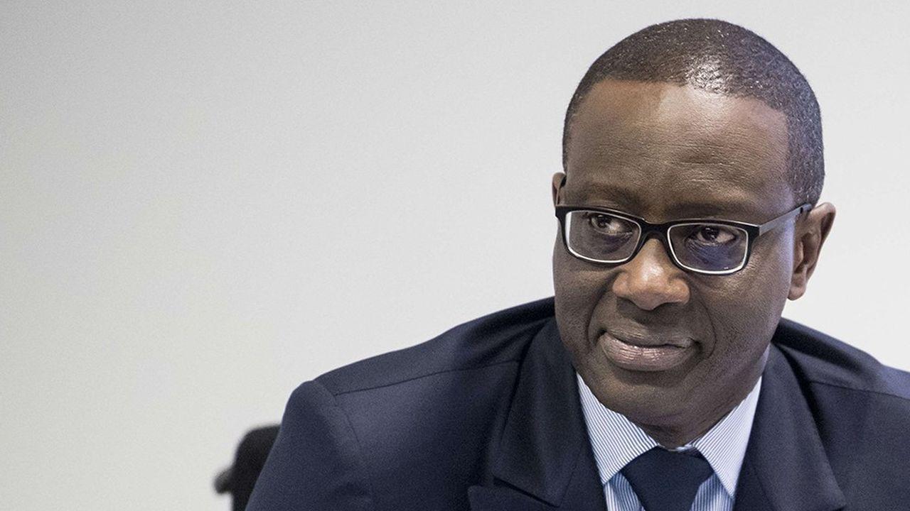 Le Franco-Ivoirien Tidjane Thiam préside aux destinées de Credit Suisse depuis quatre ans