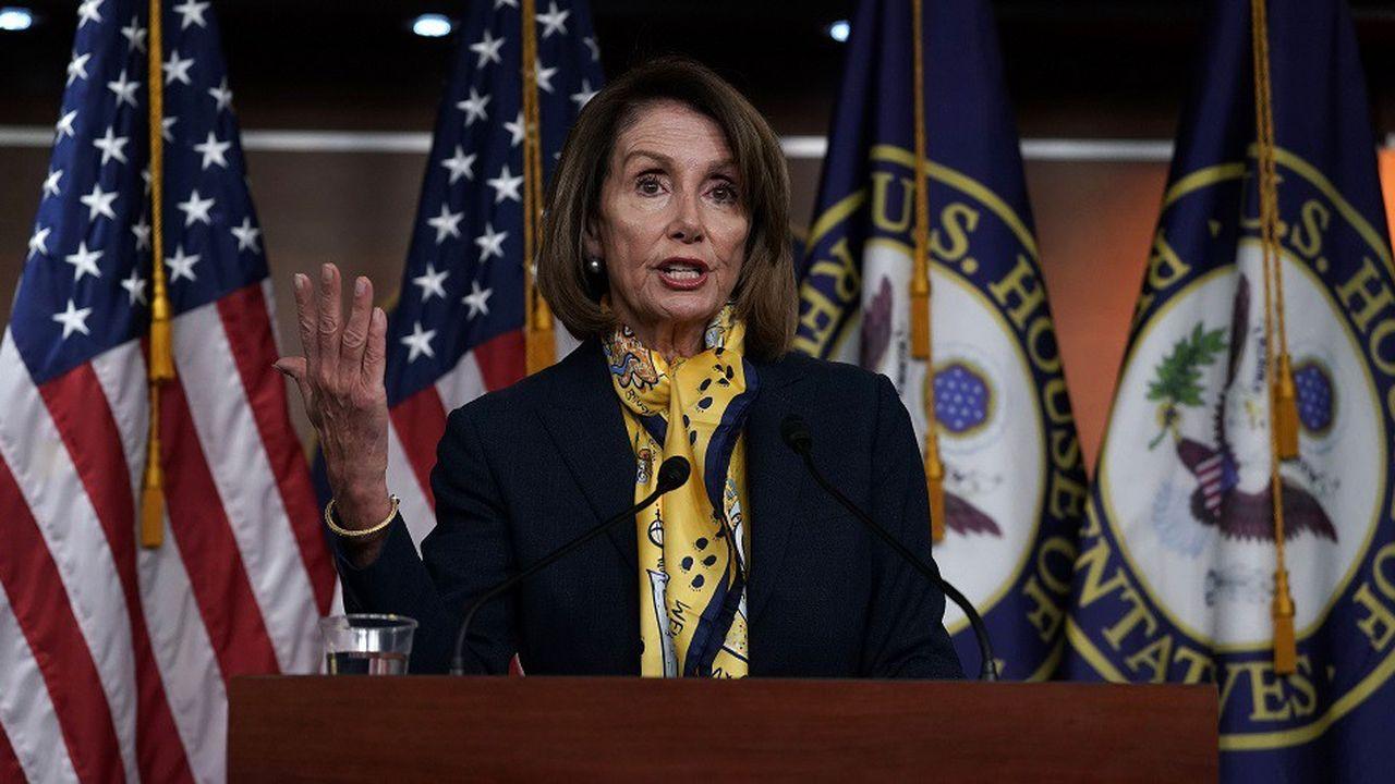 Nancy Pelosi a fait plier Donald Trump, qui a signé un accord provisoire pour mettre fin au «shutdown» sans avoir obtenu le financement d'un mur à la frontière avec le Mexique.