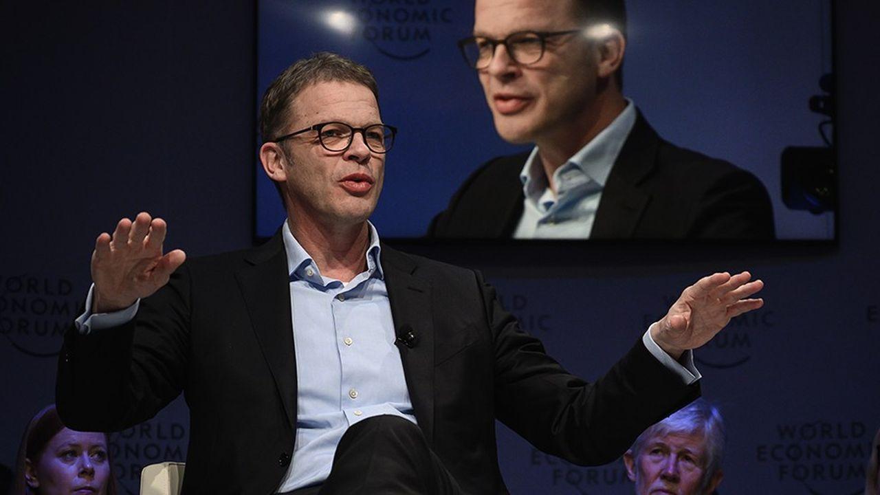 Christian Sewing veut «rendre sa fierté à Deutsche Bank», a déclaré le président du directoire de la banque à Davos.