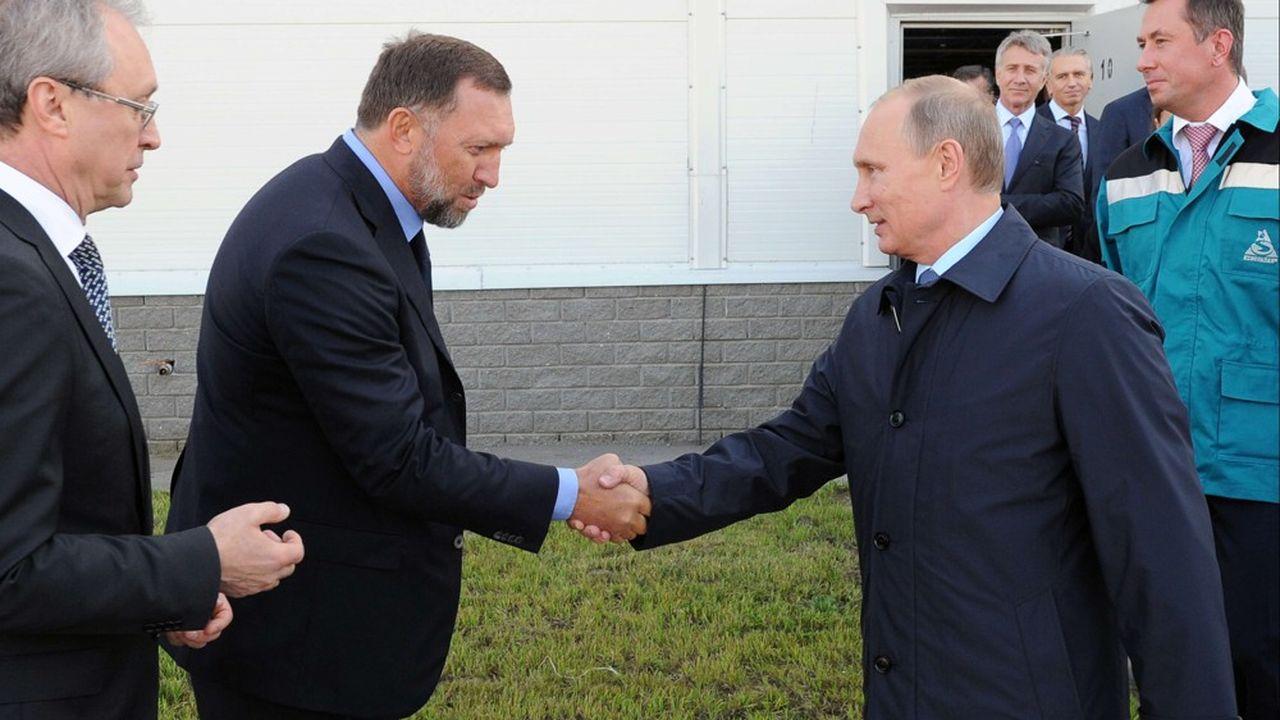 Rusal et sa filiale En+étaient contrôlées jusqu'à maintenant par l'oligarque russe Oleg Deripaska, un proche de Vladimir Poutine