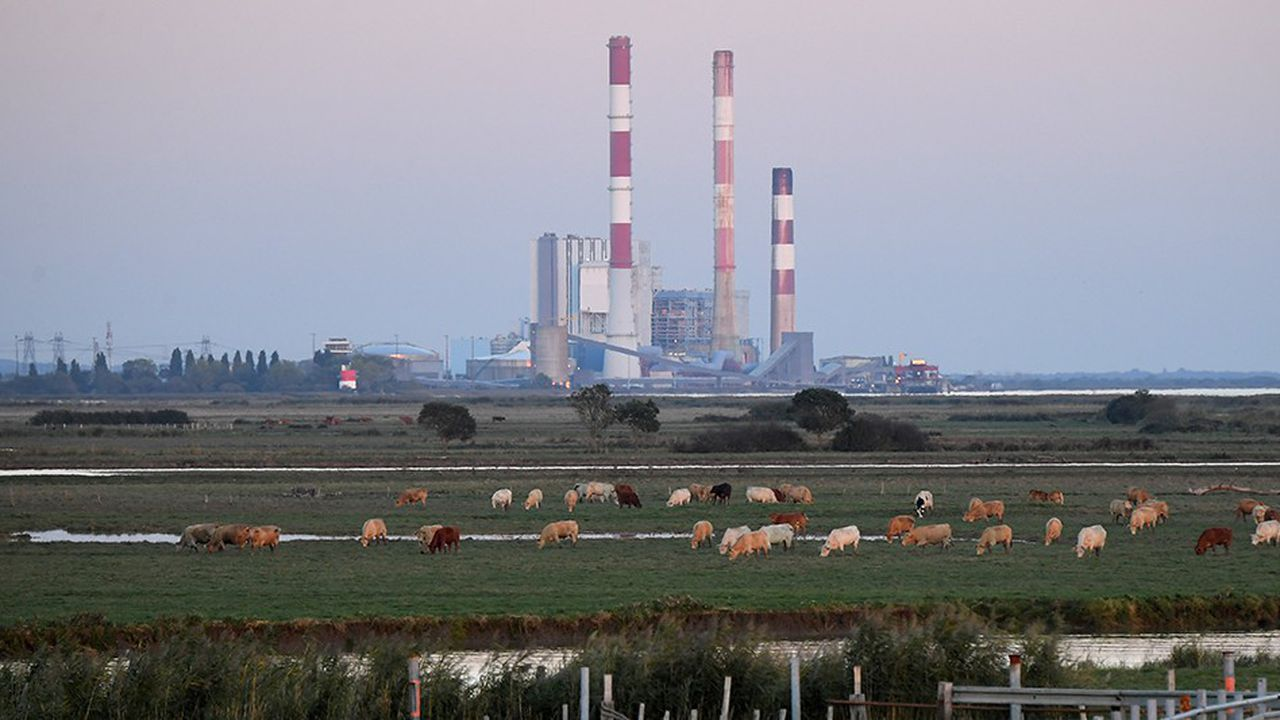 Le gouvernement s'est engagé sur une fermeture des cinq dernières tranches au charbon (deux à Cordemais (photo), une auHavre, une à Gardanne et une en Moselle) d'ici 2022.