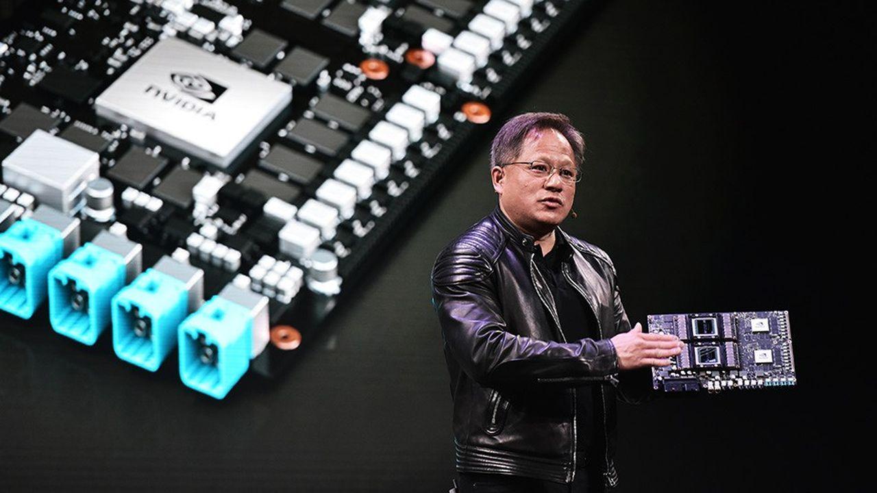 «Le quatrième trimestre a été un trimestre extraordinairement et inhabituellement agité et décevant», indique le PDG de Nvidia, Jensen Huang.