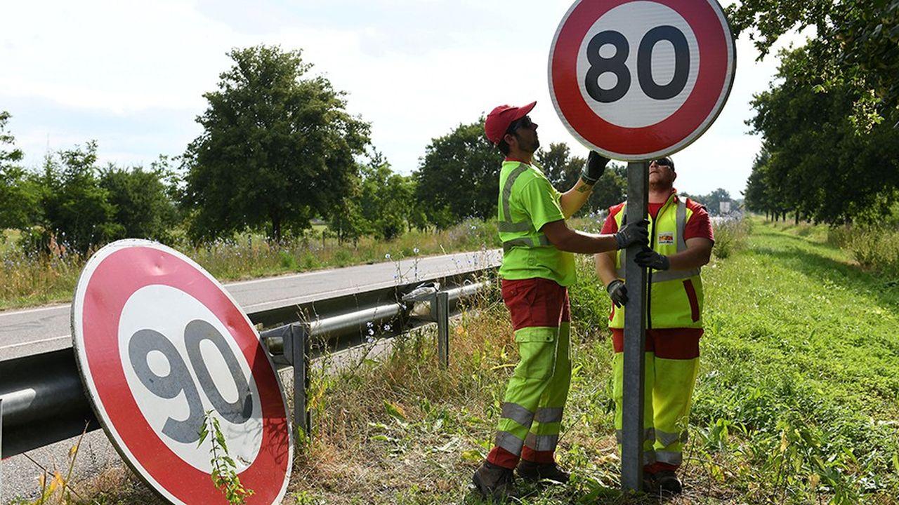Selon Edouard Philippe il «est bon que les Français débattent de la limitation contestée de la vitesse à 80km/h sur certaines routes». En revanche «il serait fou de revoir l'ambition de la Sécurité routière à la baisse».