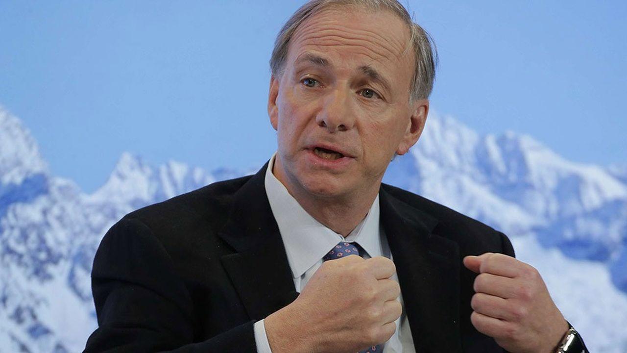 Ray Dalio, le fondateur de Bridgewater Associates, lors du Forum de Davos, en 2017