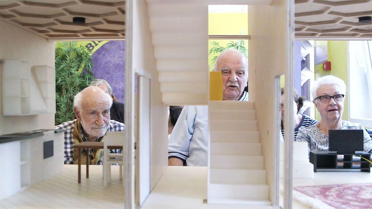 L'Urban Lab Erasme travaille sur l'adaptation du domicile et surtout la sensibilisation des jeunes retraités.