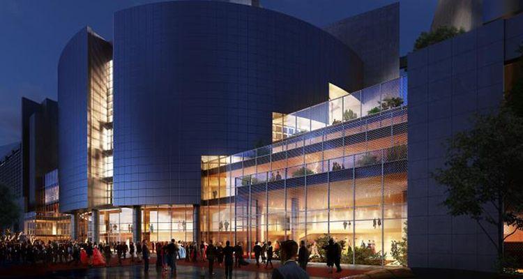 Outre la salle, des espaces supplémentaires seront créés pour accueillir le public, un foyer, un restaurant, et des lieux de réception.