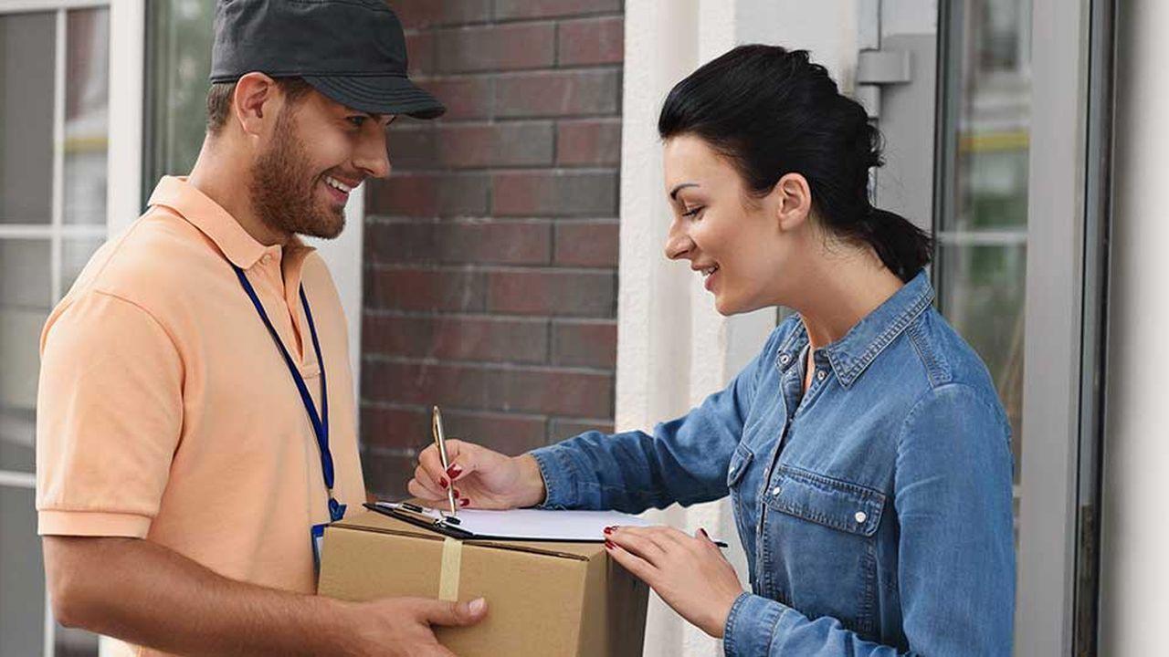 Sept créations d'entreprises sur 10 dans le secteur du transport sont liées aux services de livraison à domicile