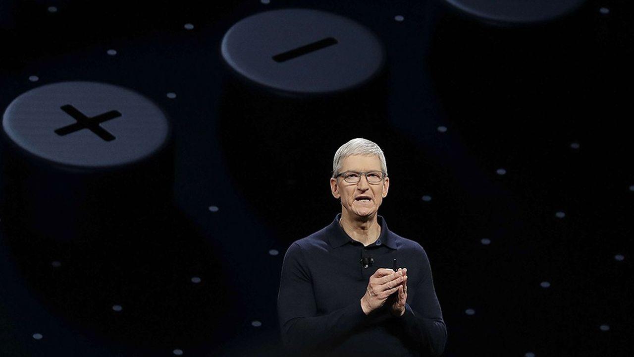 Tim Cook dirige Apple depuis l'année 2011