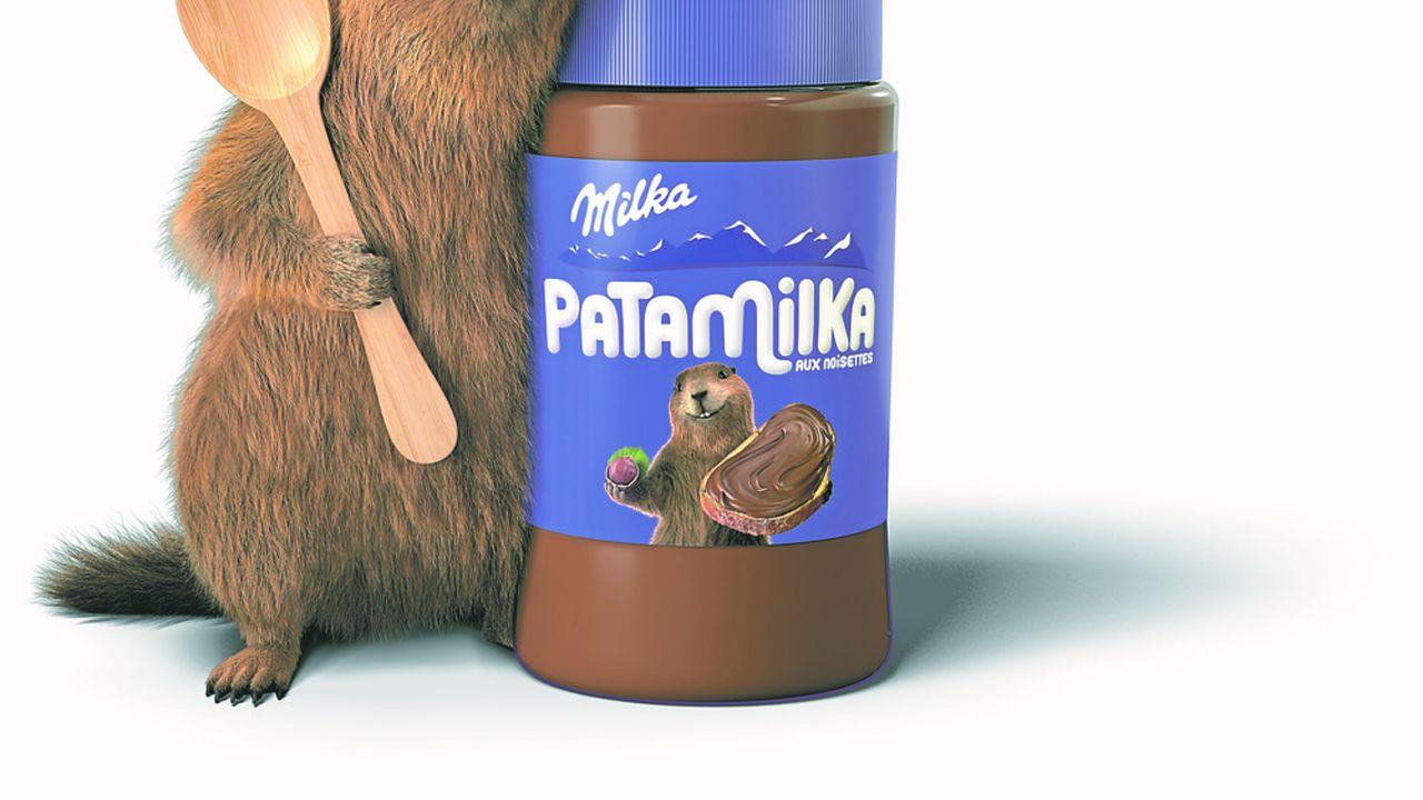 L'américain Mondelez se pose en concurrent de Nutella avec sa Patamilka fabriquée en Grèce.
