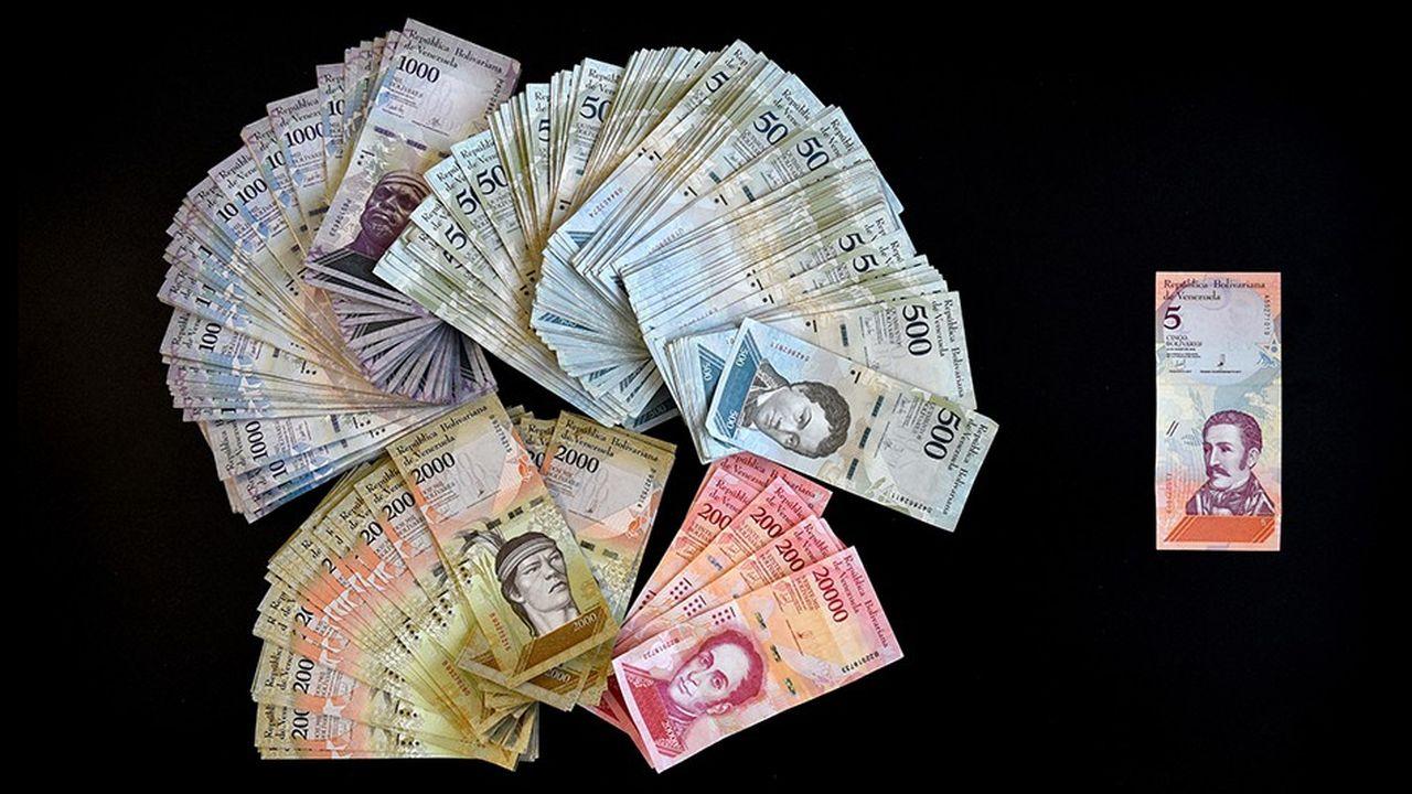 La devise vénézuélienne s'est effondrée