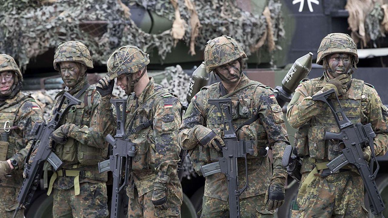 Le nombre de soldats effectivement recrutés dans l'armée allemande est tombé en 2018 à son niveau le plus bas de son histoire, soit 20.012personnes contre 23.000 un an plus tôt.