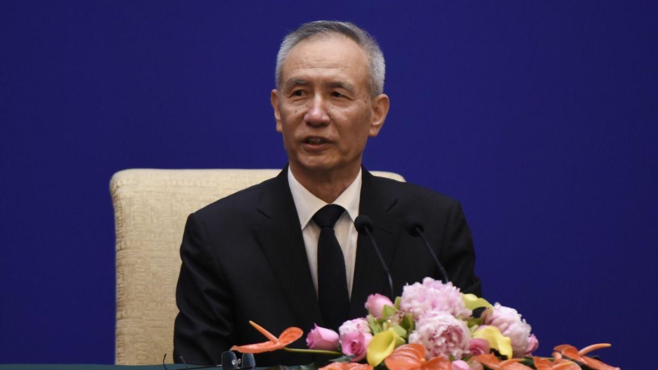 Le vice-Premier ministre chinois, Liu He, est à Washington pour tenter d'apaiser la guerre commerciale entre la Chine et les Etats-Unis