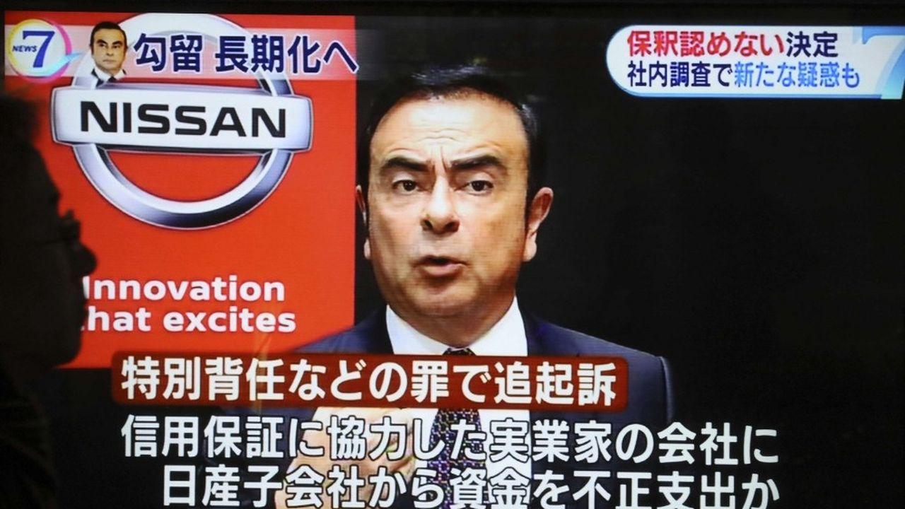Carlos Ghosn continue d'affirmer qu'il n'a pas commis les malversations qui lui sont reprochées par la justice nippone