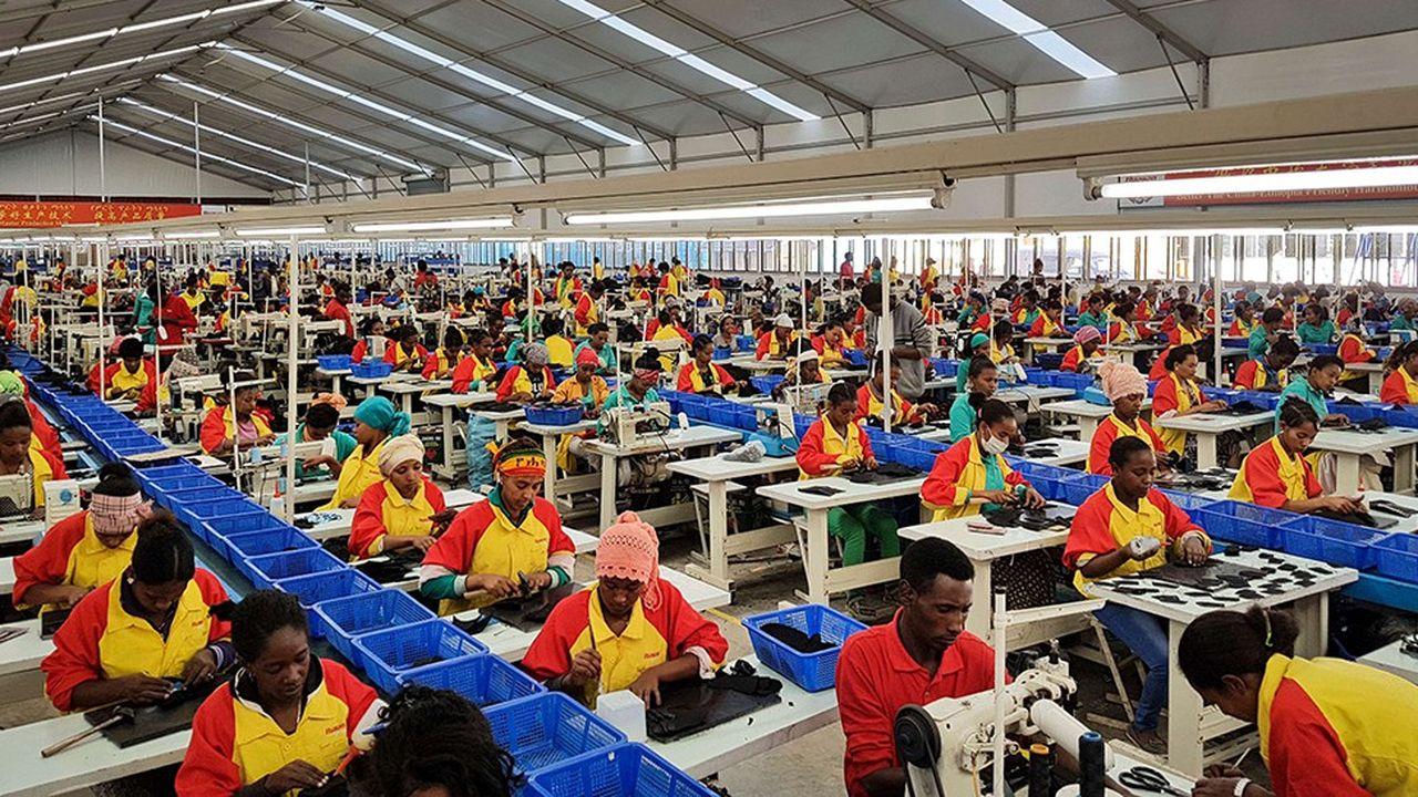 Les entreprises chinoises ont massivement investi en Ethiopie, un des pays les plus dynamiques du continent africain.