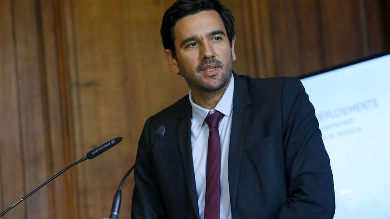 Sébastien Soriano, président de l'Arcep. Point d'étape trimestriel du gouvernement sur l'avancée de la couverture numérique du territoire.