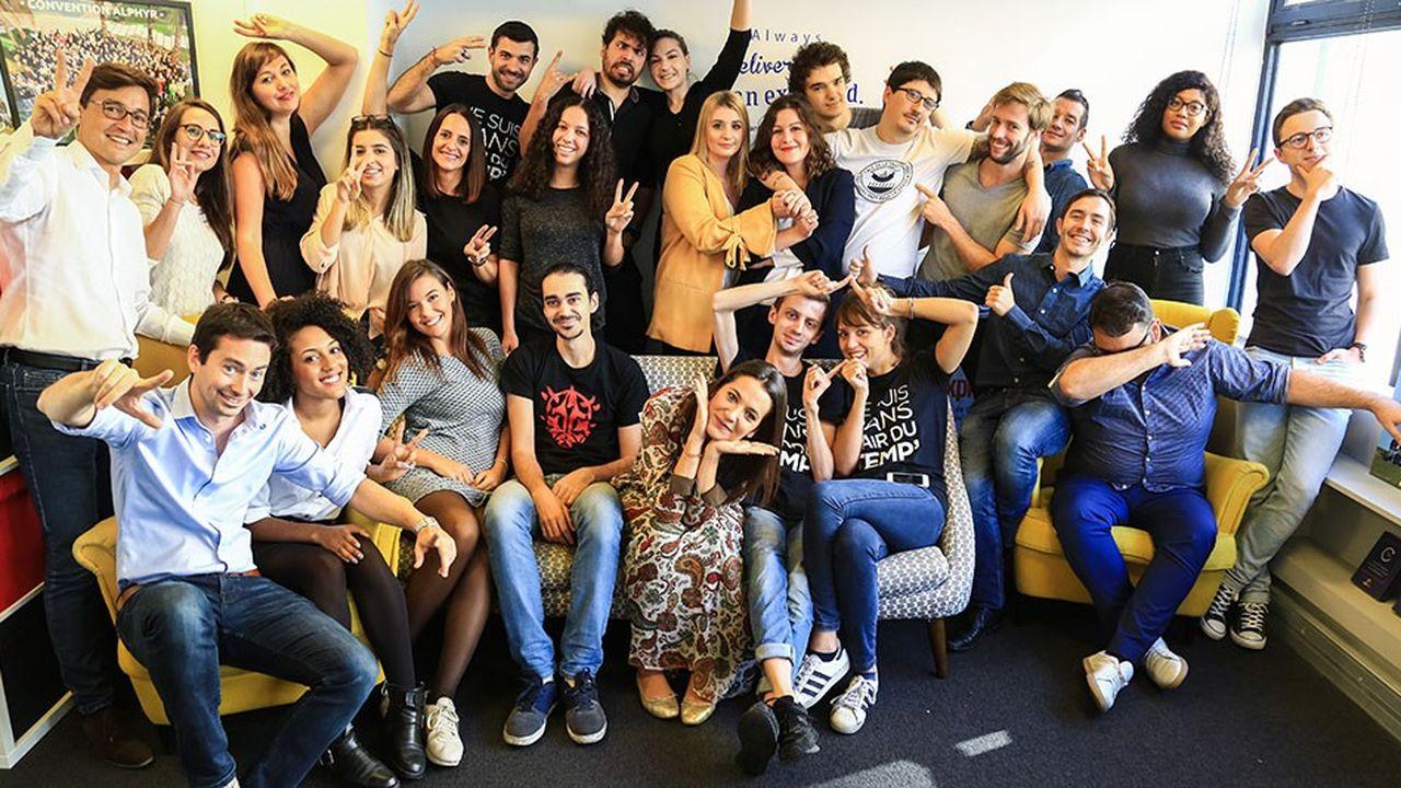 Pour 2019 Alphyr prévoit prévoit l'ouverture de 25 à 30 agences supplémentaires en France.