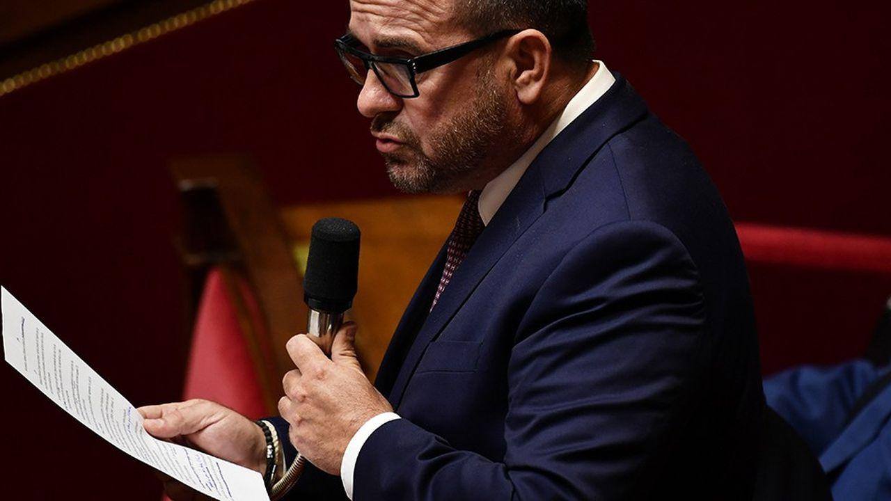 Le députéHervé Saulignac est le rapporteur de la proposition de loi PS.