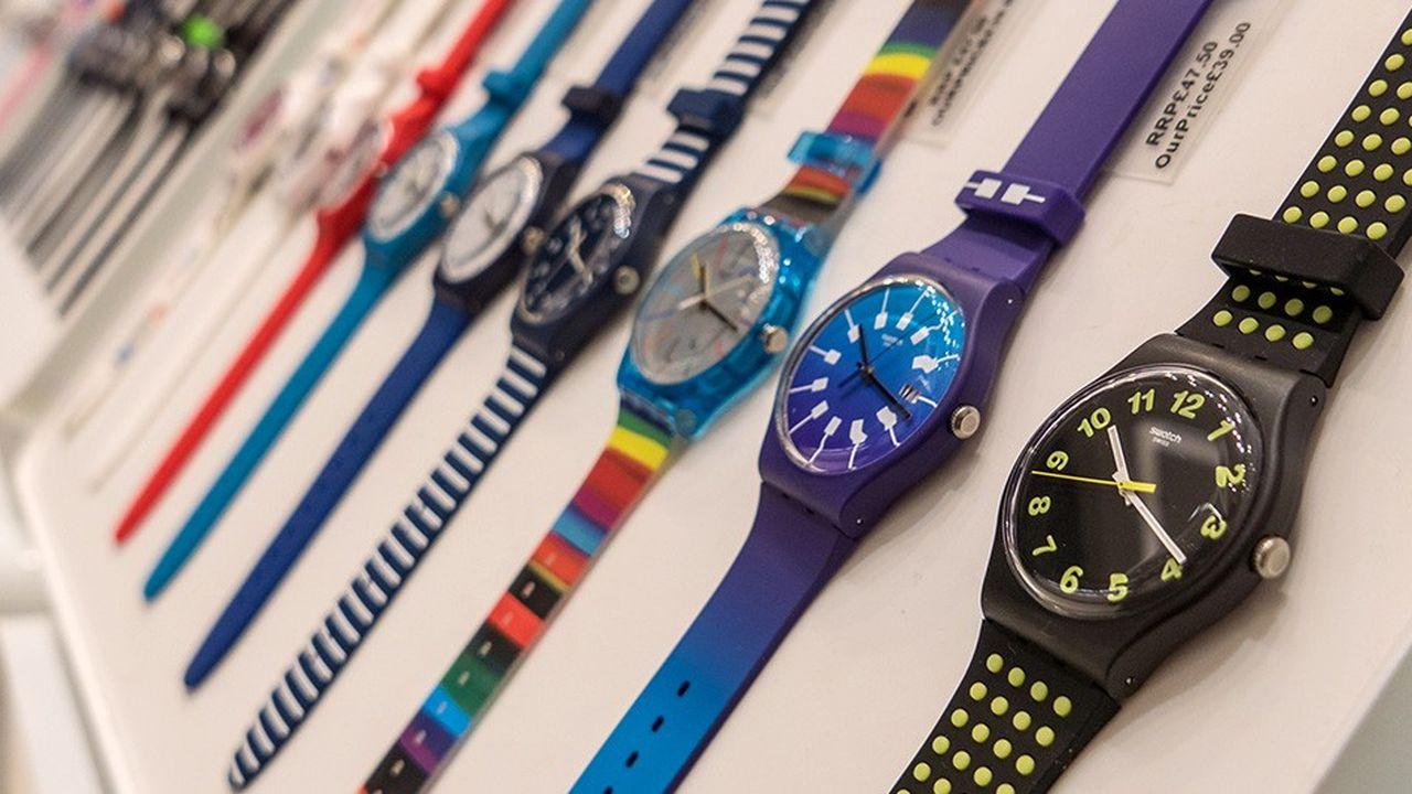 Swatch Group parie de plus en plus sur les ventes en ligne, en particulier sur le segment de l'entrée de gamme