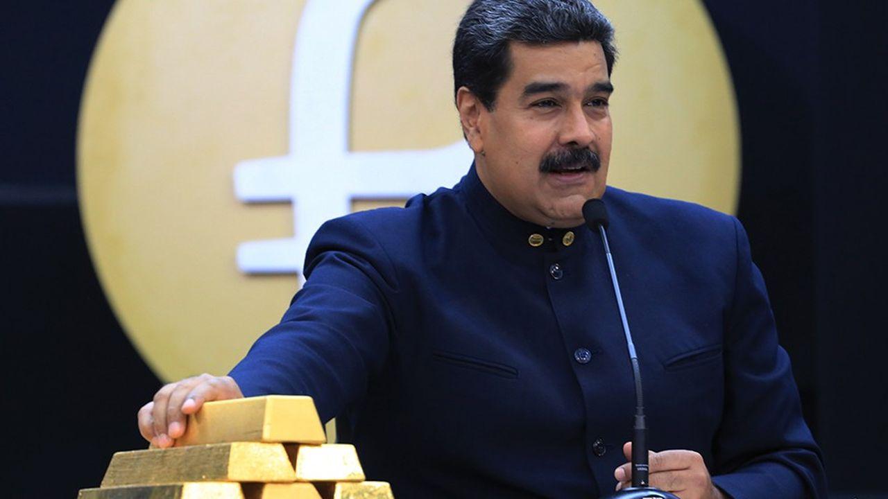 Le président vénézuélien Nicolas Maduro en mars2018.