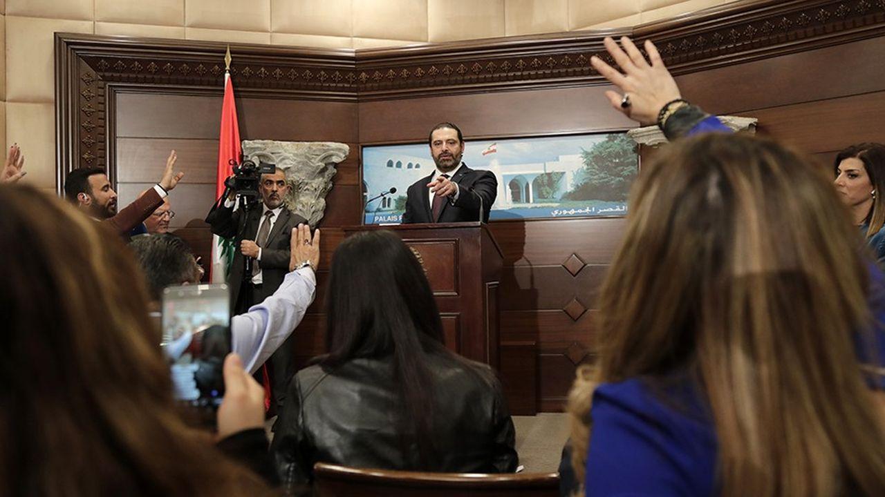 Le Premier Ministre Saad Hariri présente le nouveau gouvernement après huit mois de blocage politique.