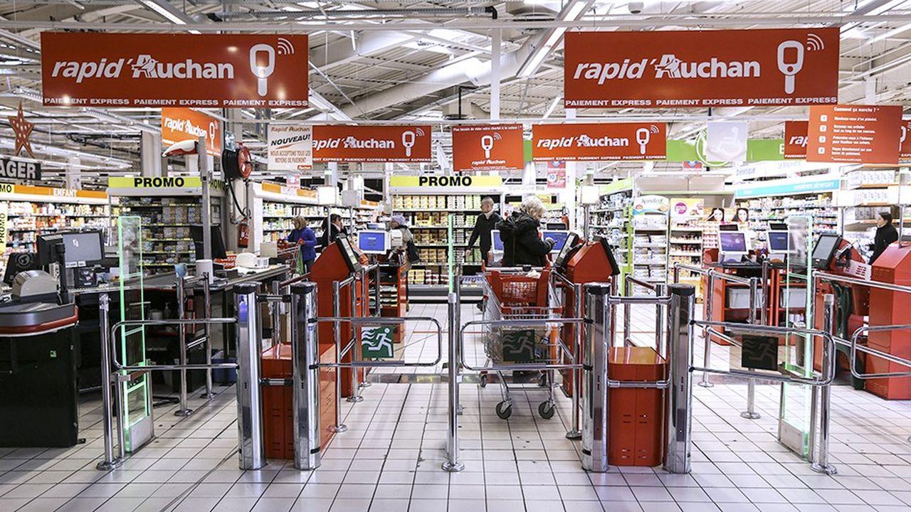 Carte Auchan Numerique.Auchan France Remet A Plat Son Organisation Les Echos