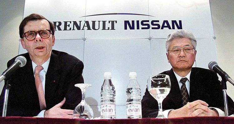 En 1999, Louis Schweitzer, le patron de Renault, annonçait l'alliance entre Renault et Nissan