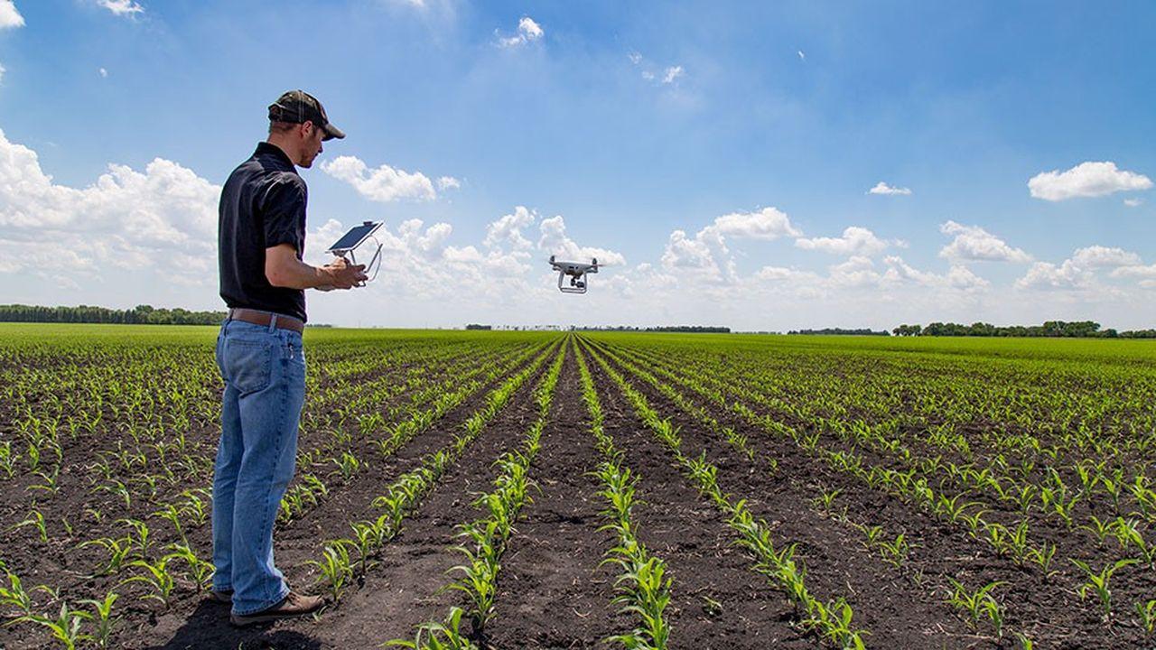 Les drones civils font déjà leurs preuves, notamment dans l'agriculture.